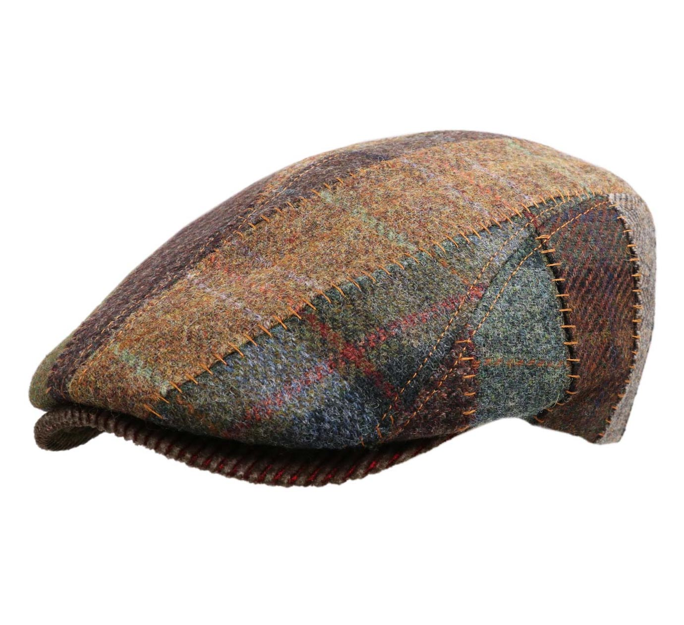 beret patchwork Rusty Patchwork